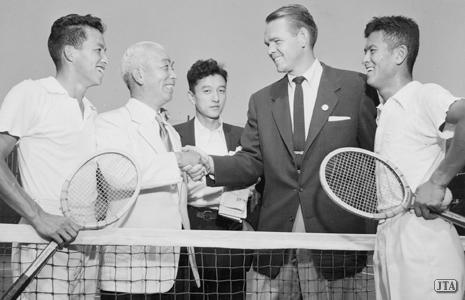 ミュージアム:日本テニス国際化の時代