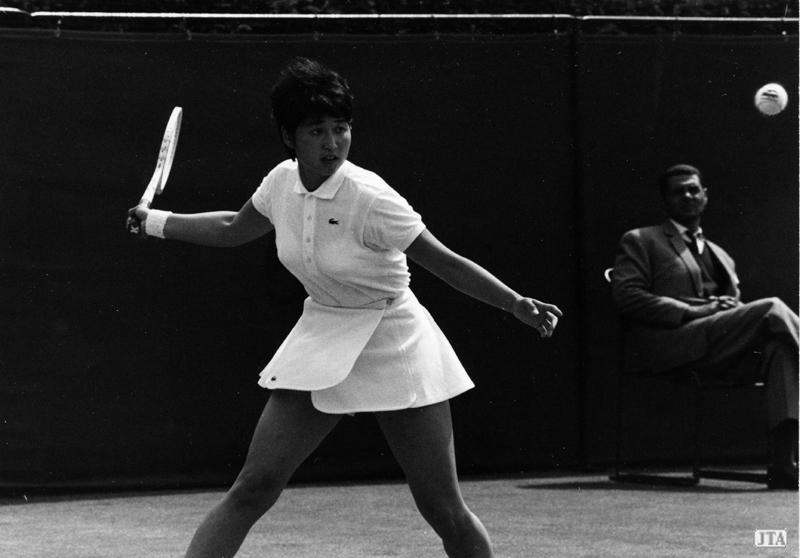 ミュージアム:沢松和子の成長、オープン化の波 日本テニス協会公式 ...